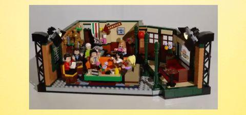 Lego lanzará una colección inspirada en la serie 'Friends'.
