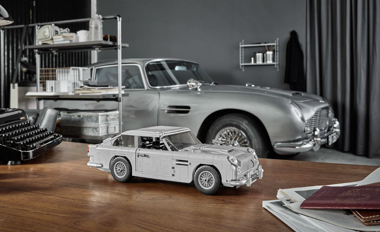 lego's james bond aston martin db5 has a working ejector seat