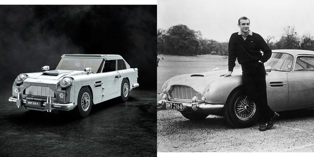 lego reveals a james bond 1964 aston martin db5 car set. Black Bedroom Furniture Sets. Home Design Ideas