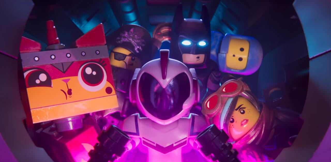 Nuevas aventuras en las películas de Lego