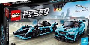 Lego Speed Champions Jaguar I-Pace y Formula e