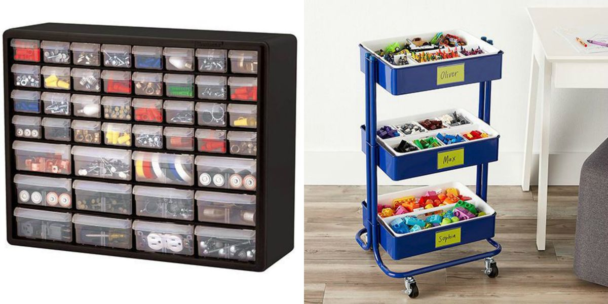 Lego Storage Ideas Building Brick Organization