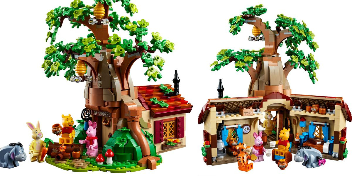 Lego just announced an incredible Winnie the Pooh set for adults