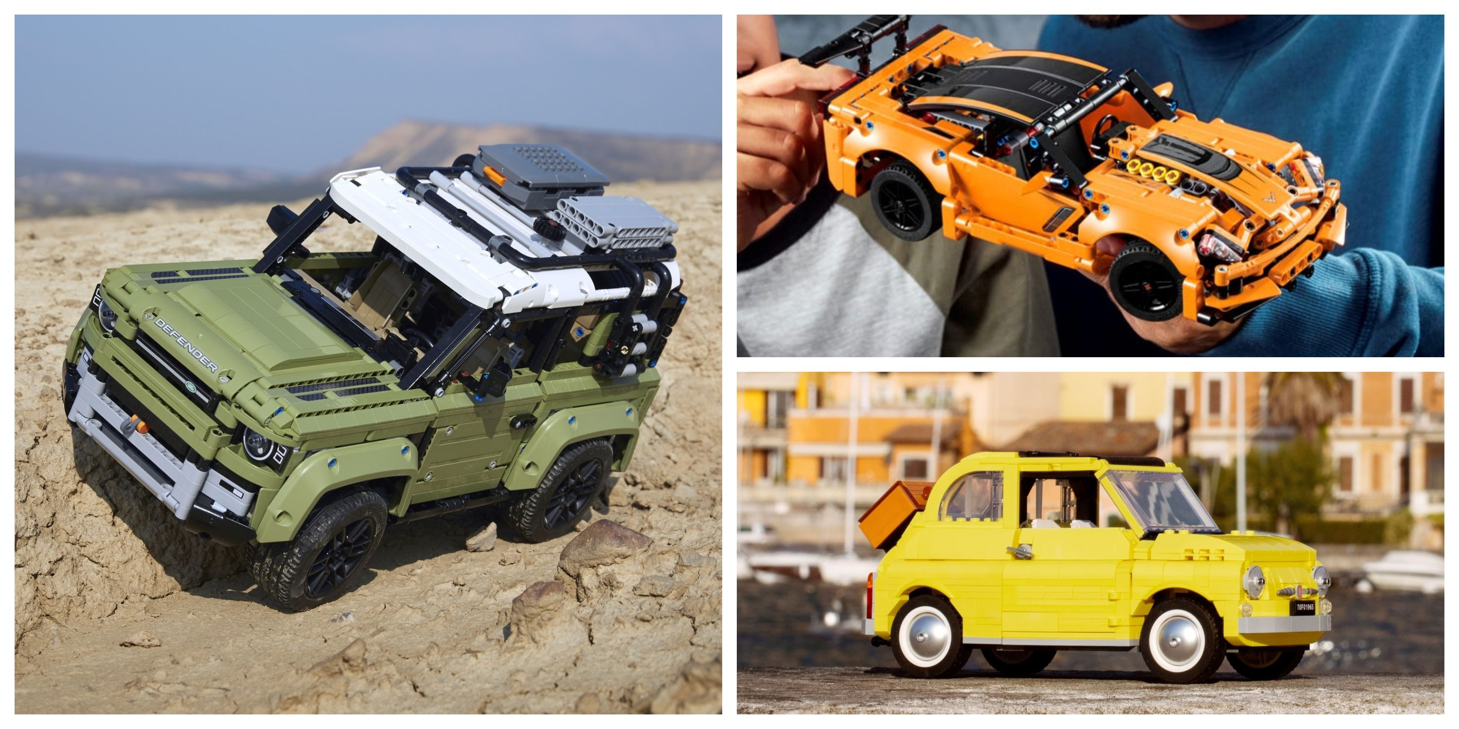 Awesome Real Life Cars You Can Buy In Lego Form