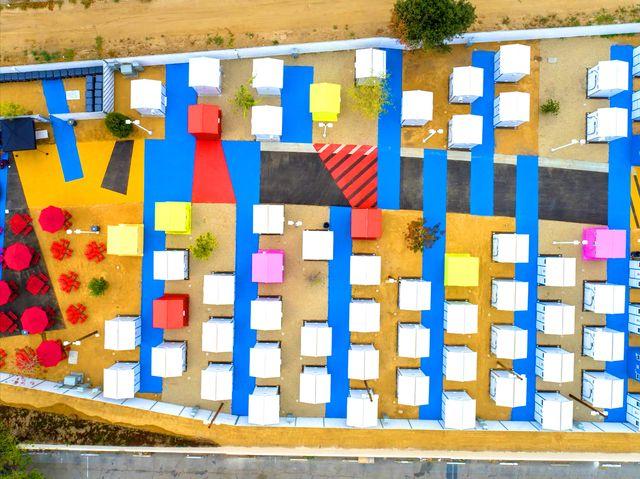 lehrer architects casas colores los angeles para acogida