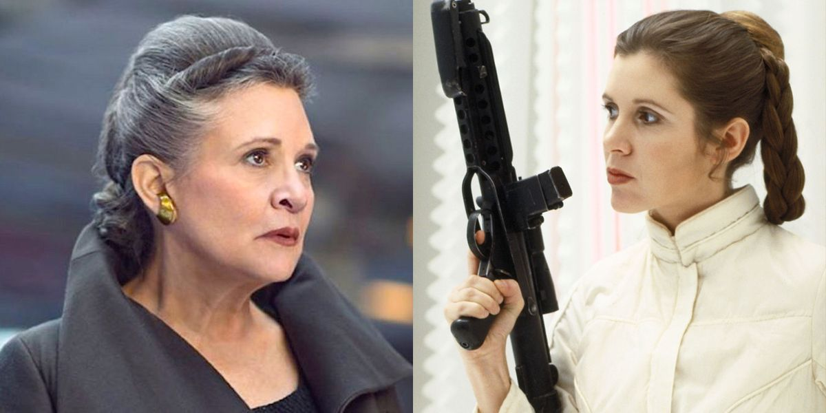 Was Carrie Fisher Cgi In Star Wars The Rise Of Skywalker How Jj Abrams Pulled Off The Leia Scenes