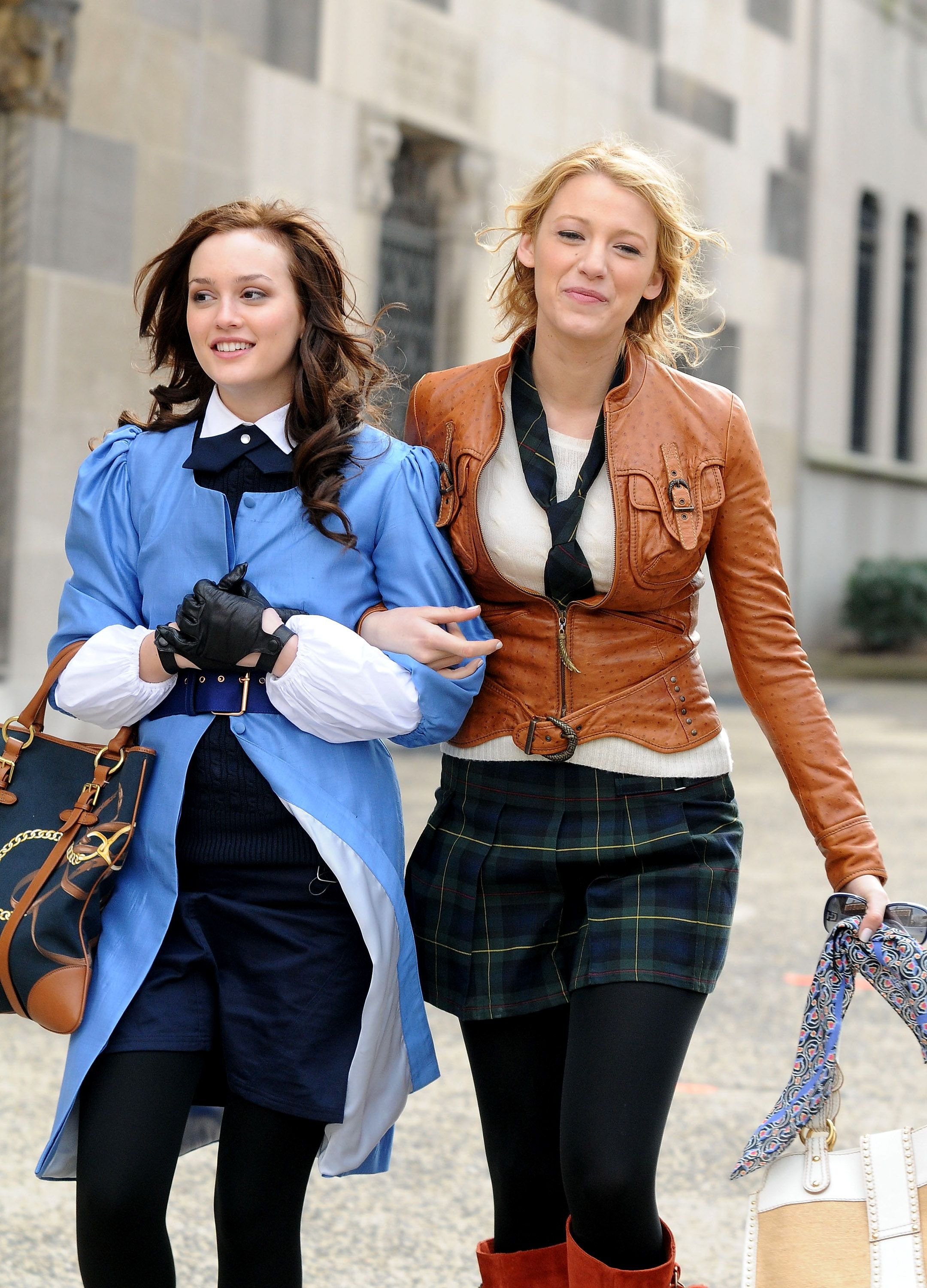 how old was blake lively filming gossip girl