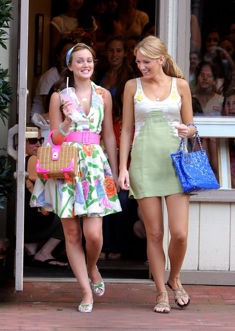 "on location for ""gossip girl""   june 25, 2008"