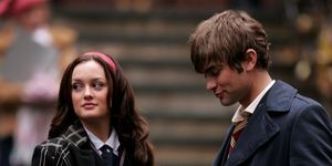 "Chace Crawford en Leighton Meester On Location for ""Gossip Girl"" - November 26, 2007"