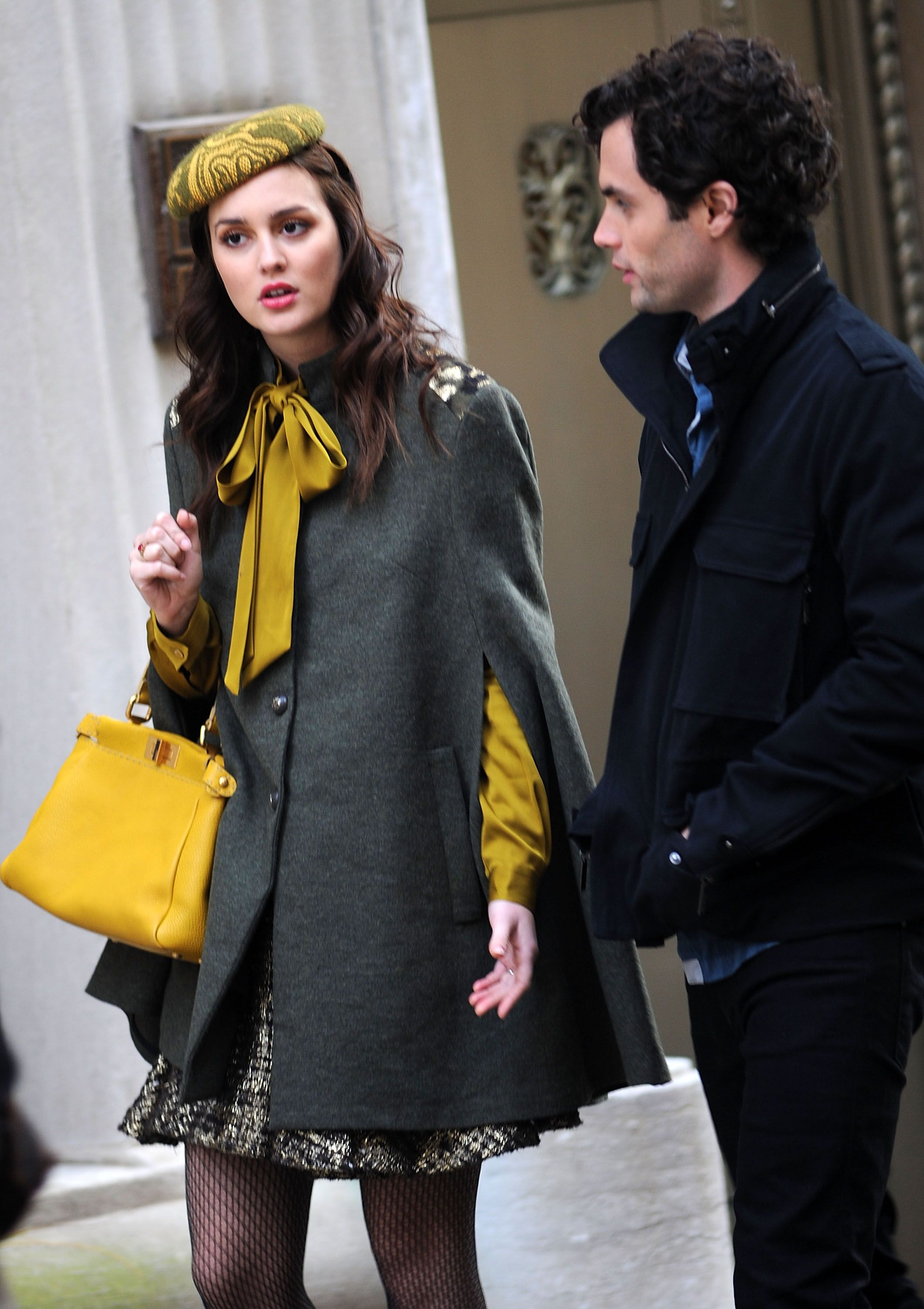 On Location For 'Gossip Girl' - October 31, 2011