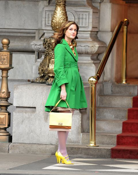 """on location for """"gossip girl""""   march 16, 2009"""