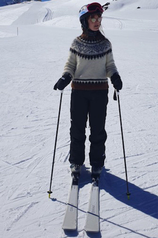 Leith Clark, skiing style