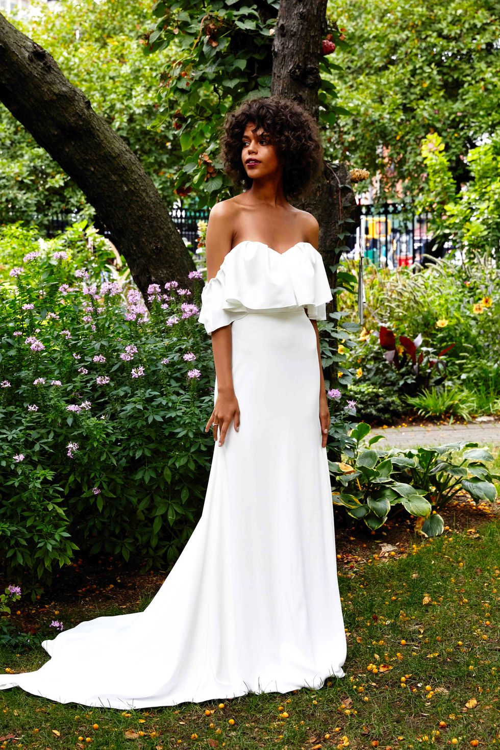 The Best Wedding Gowns (and Jumpsuits) from Bridal Week Fall 2019