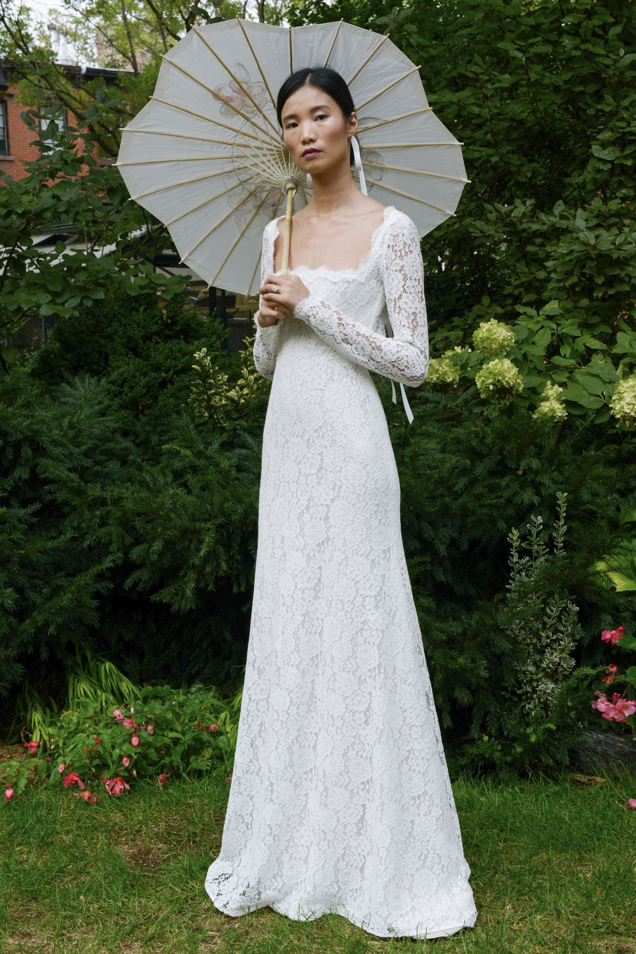 52e12ac0ccf Classic Long Sleeve Lace Wedding Dresses - Gomes Weine AG
