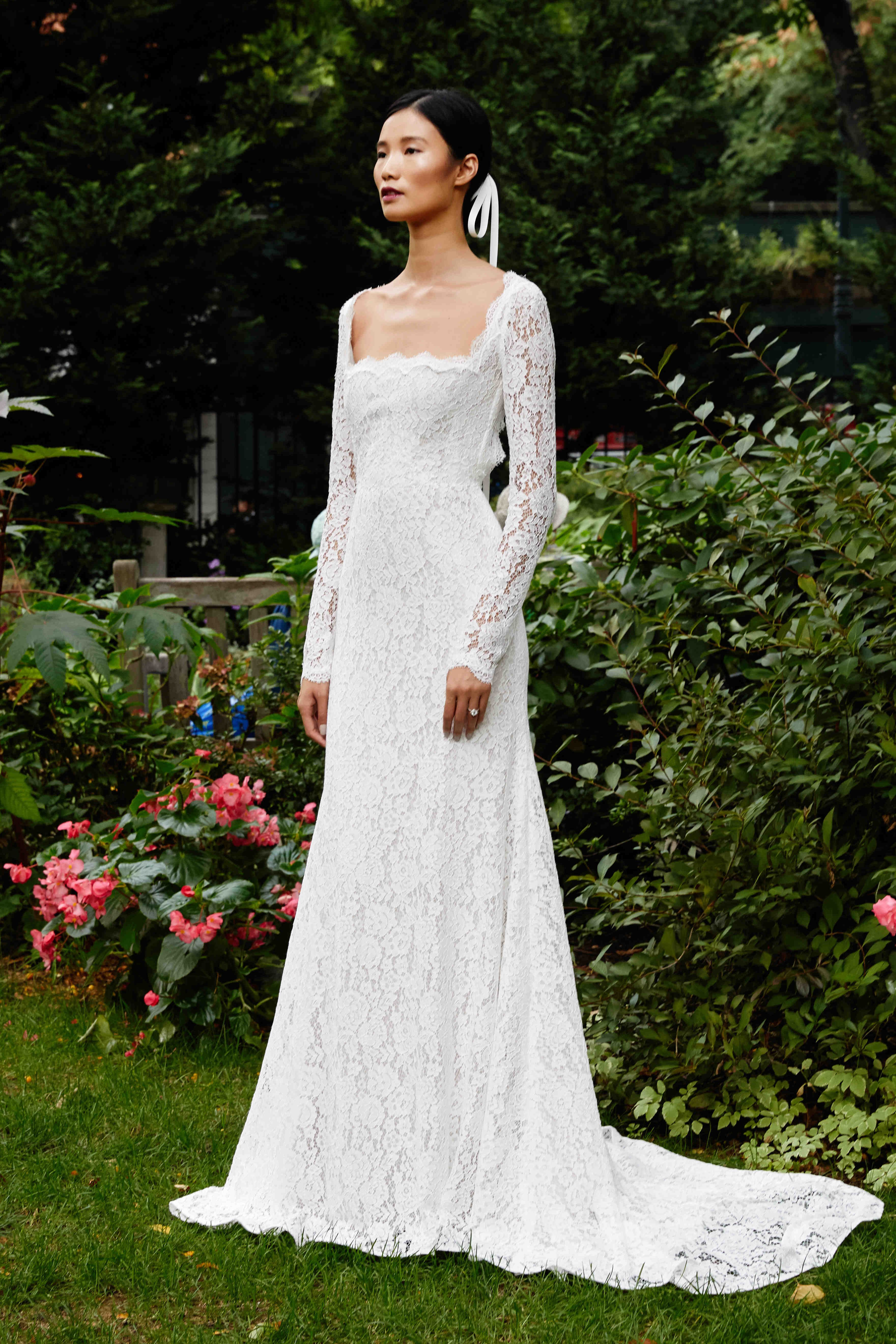 The Best Wedding Gowns And Jumpsuits From Bridal Week Fall 2019