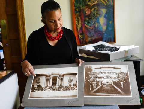 a'lelia bundles is a descendant of madam c j walker, who was the first black woman millionaire in the united states