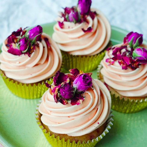 lemon and raspberry cupcakes