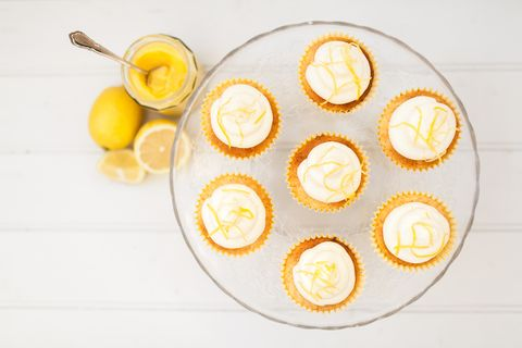 Mary Berry's lemon cupcakes recipe | Lemon drizzle cupcake recipes
