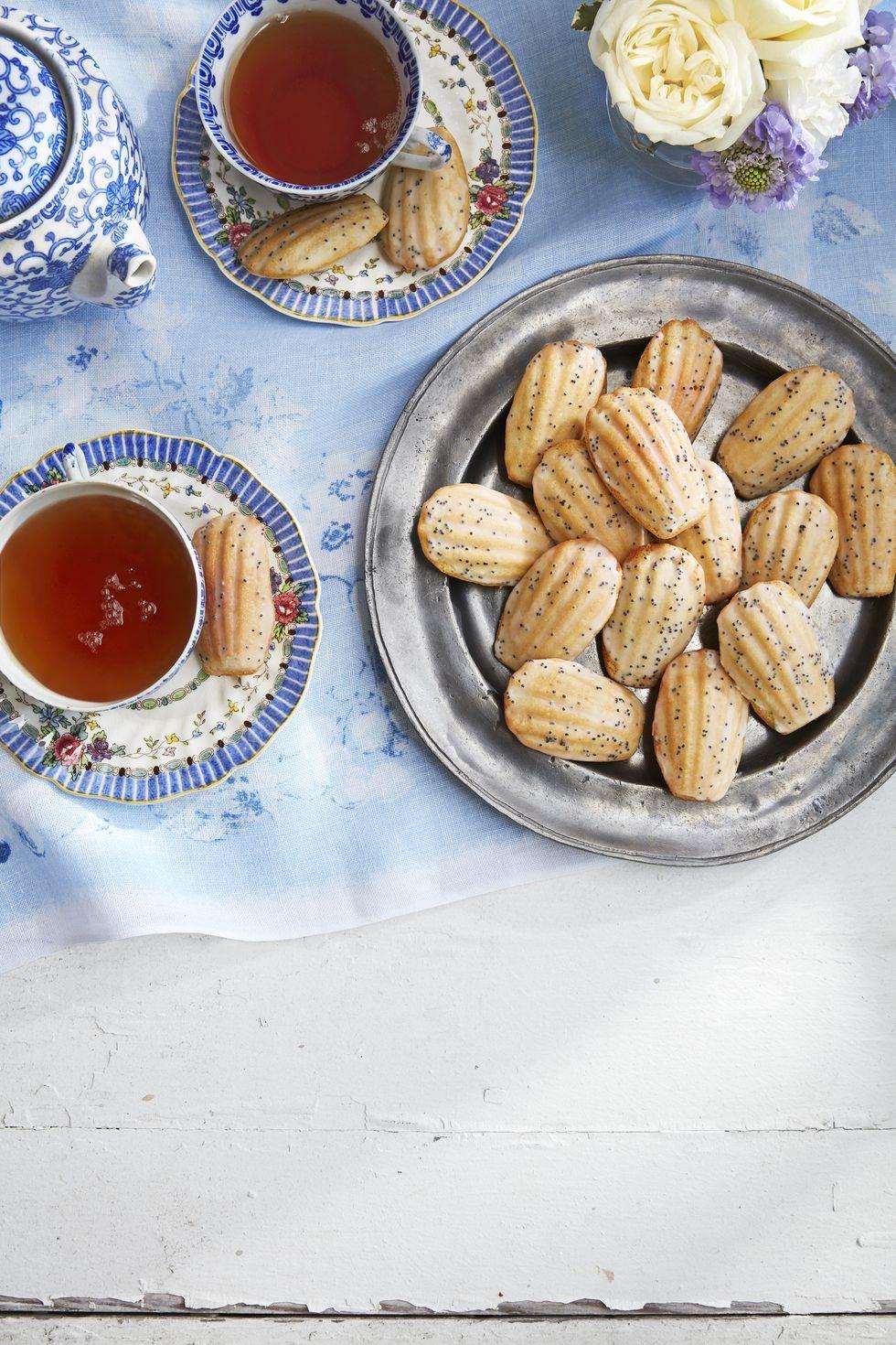 lemon desserts jasmine madeleines