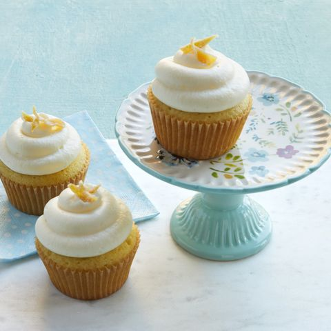 lemon desserts recipes double lemon cupcakes