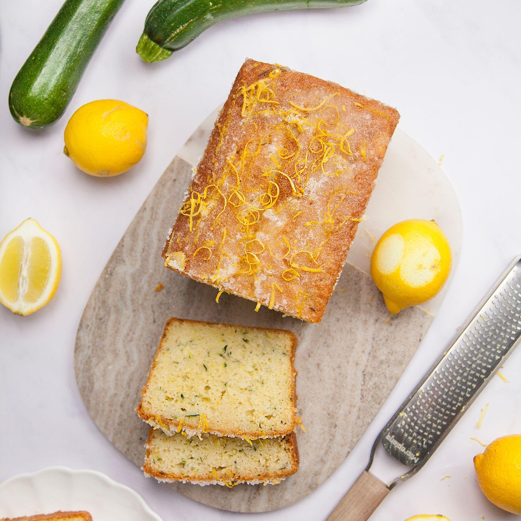 Courgette Lemon Drizzle Cake