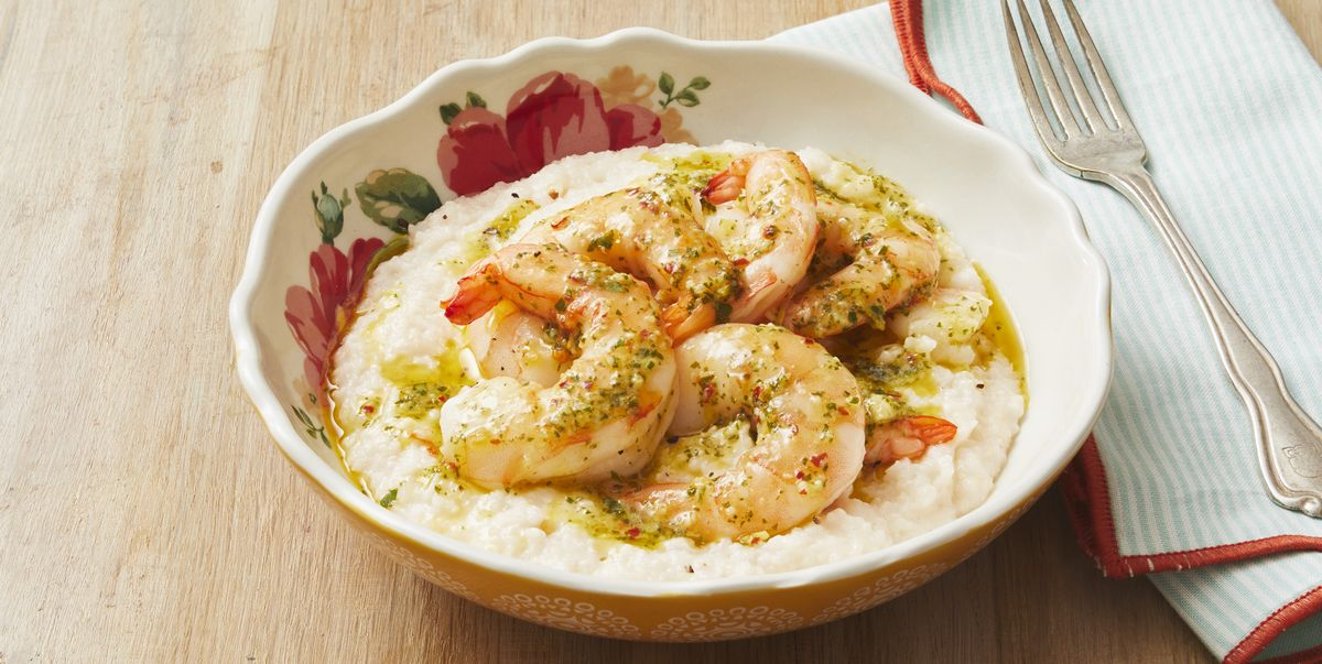 Make Lemon-Garlic Shrimp and Grits in 35 Minutes