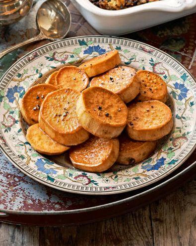 lemonglazed sweet potatoes