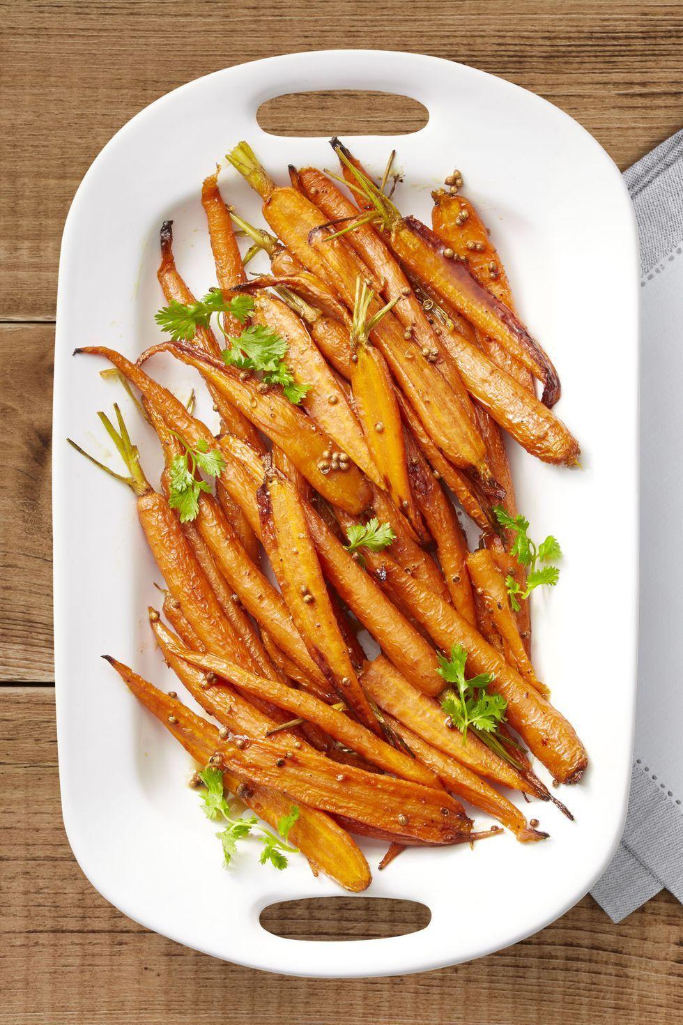 Lemon-Maple Roasted Carrots