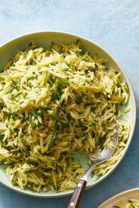 lemon orzo salad
