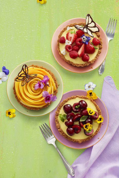 no-bake lemon tarts - easter desserts
