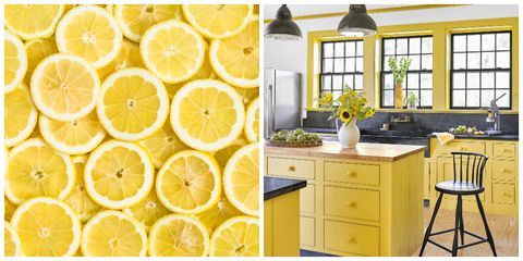 Lemon Yellow Home Decor Decorating Ideas
