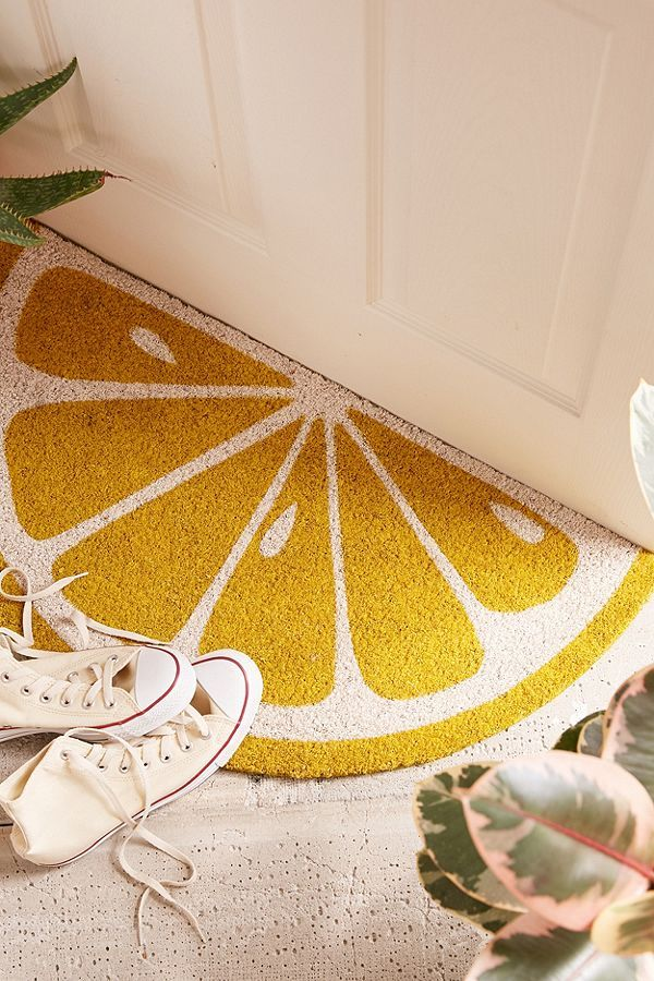 Image result for lemon door mat diy