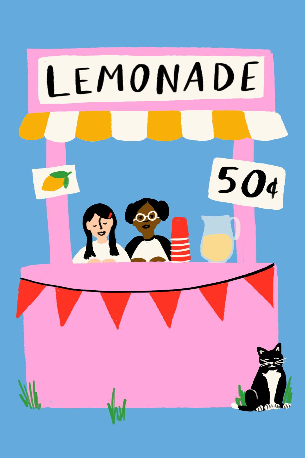 small town traditions lemonade stand