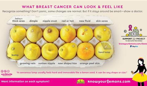 Breast Cancer Symptoms Depicted In Viral Photo Of Lemons