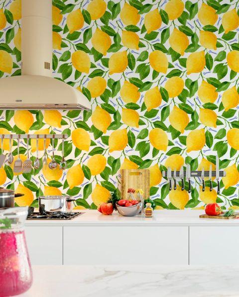 11 Best Kitchen Wallpaper Ideas Cool Modern Kitchen Wallpaper Designs