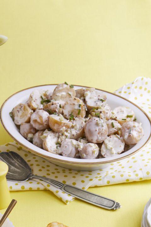 bbq side dishes -lemony potato salad