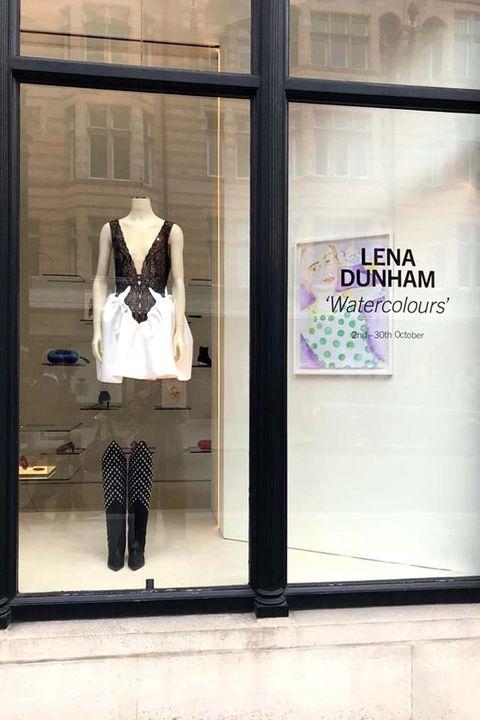 Lena Dunham's paintings