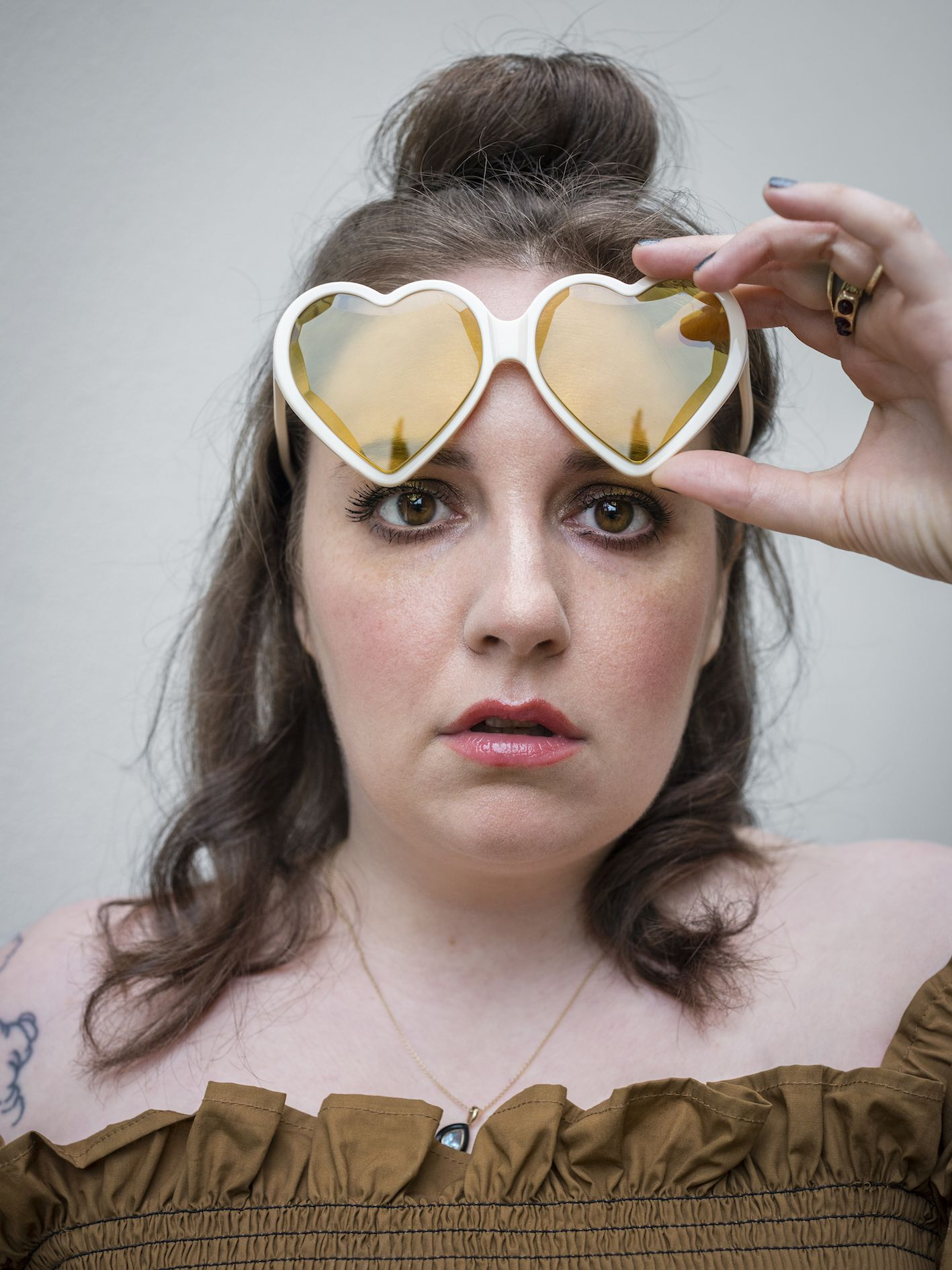 Lena Dunham Reveals The Emotional Reason Why She Kept A Food Diary While Living In The UK