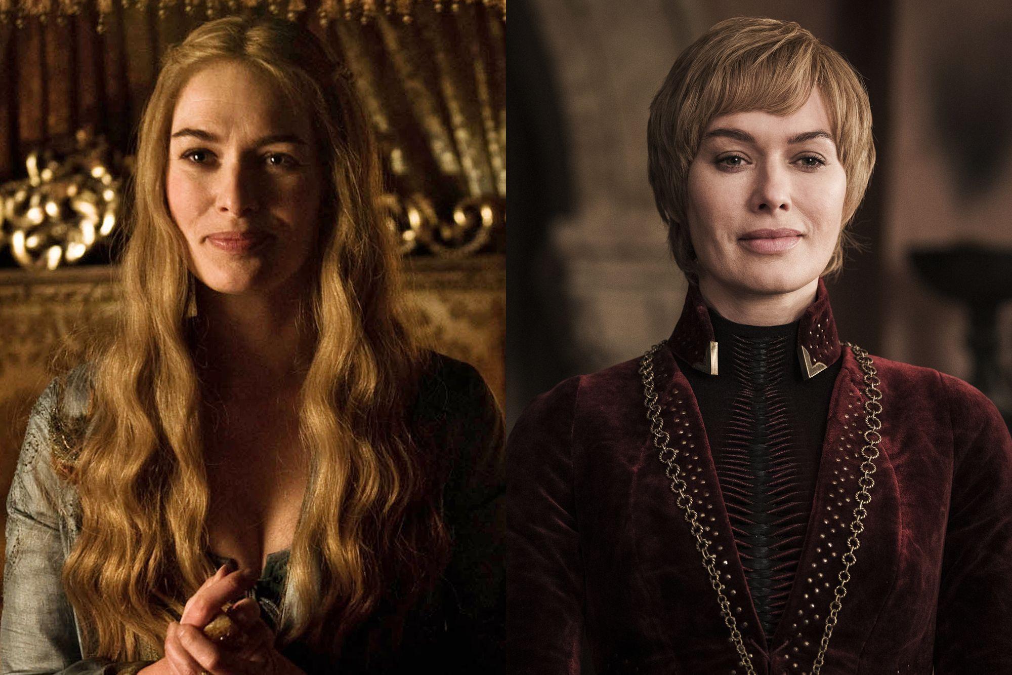 Lena Headey as Cersei Lannister Season One to Season Eight.