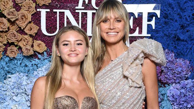 ドイツ出身のスーパーモデルで、実業家としても活躍しているハイディ・クルム(48歳)の娘レニ・クルム(17歳)が、テレビ番組『extra』に登場。2世セレブとしても注目を集める彼女は、モデルとしてデビューするまでの道のりについて明らかに。