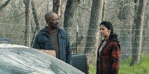 Lennie James, Karen David, Fear the Walking Dead, Season 5, Episode 6