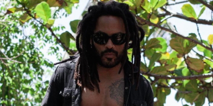 Lenny Kravitz, 57, Shows Off His Abs While Building a Deck