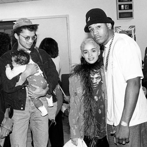 Lenny Kravitz Lisa Bonet And LL Cool J