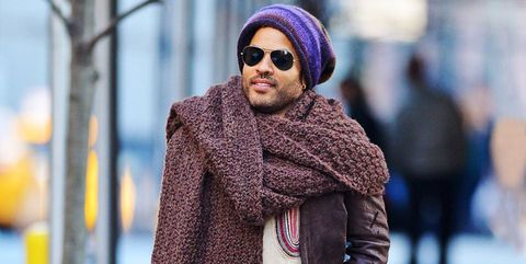 924f9544725 Lenny Kravitz s Scarf Is His Best Fashion Moment