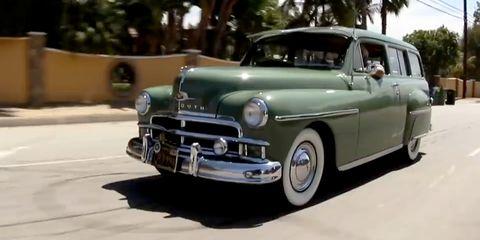 Land vehicle, Vehicle, Car, Classic car, Coupé, Classic, Antique car, Plymouth deluxe, Sedan, Dodge meadowbrook,