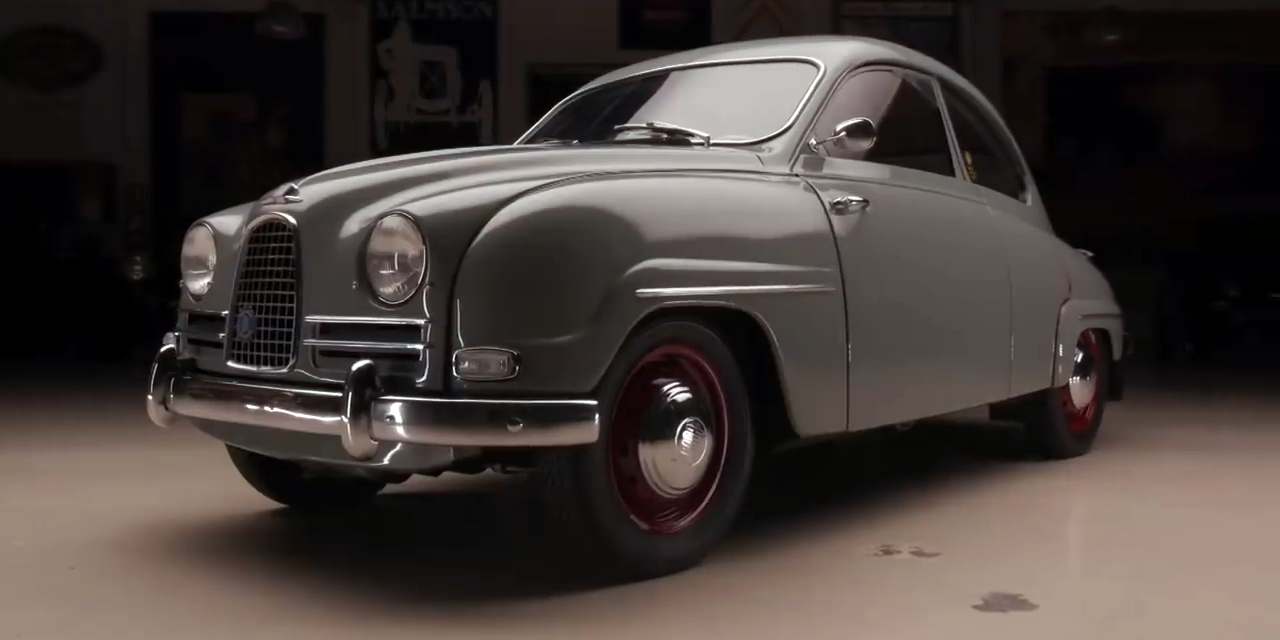 Why Jay Leno Is In Love With His 1958 Saab 93