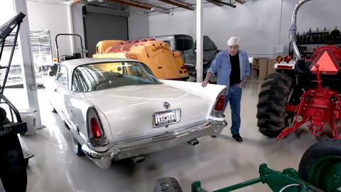 Jay Leno Has The Rarest Of Rare American Cars