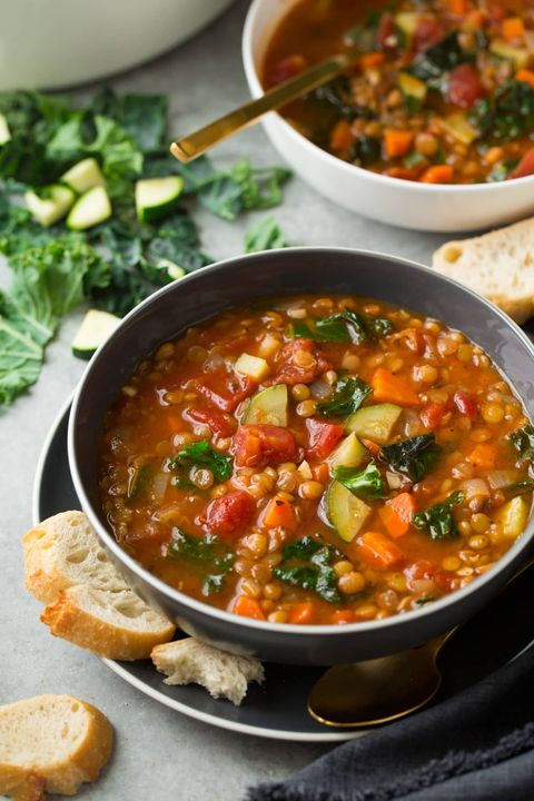 lentil soup recipes italian vegetables