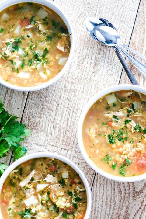 lentil soup recipes red chicken