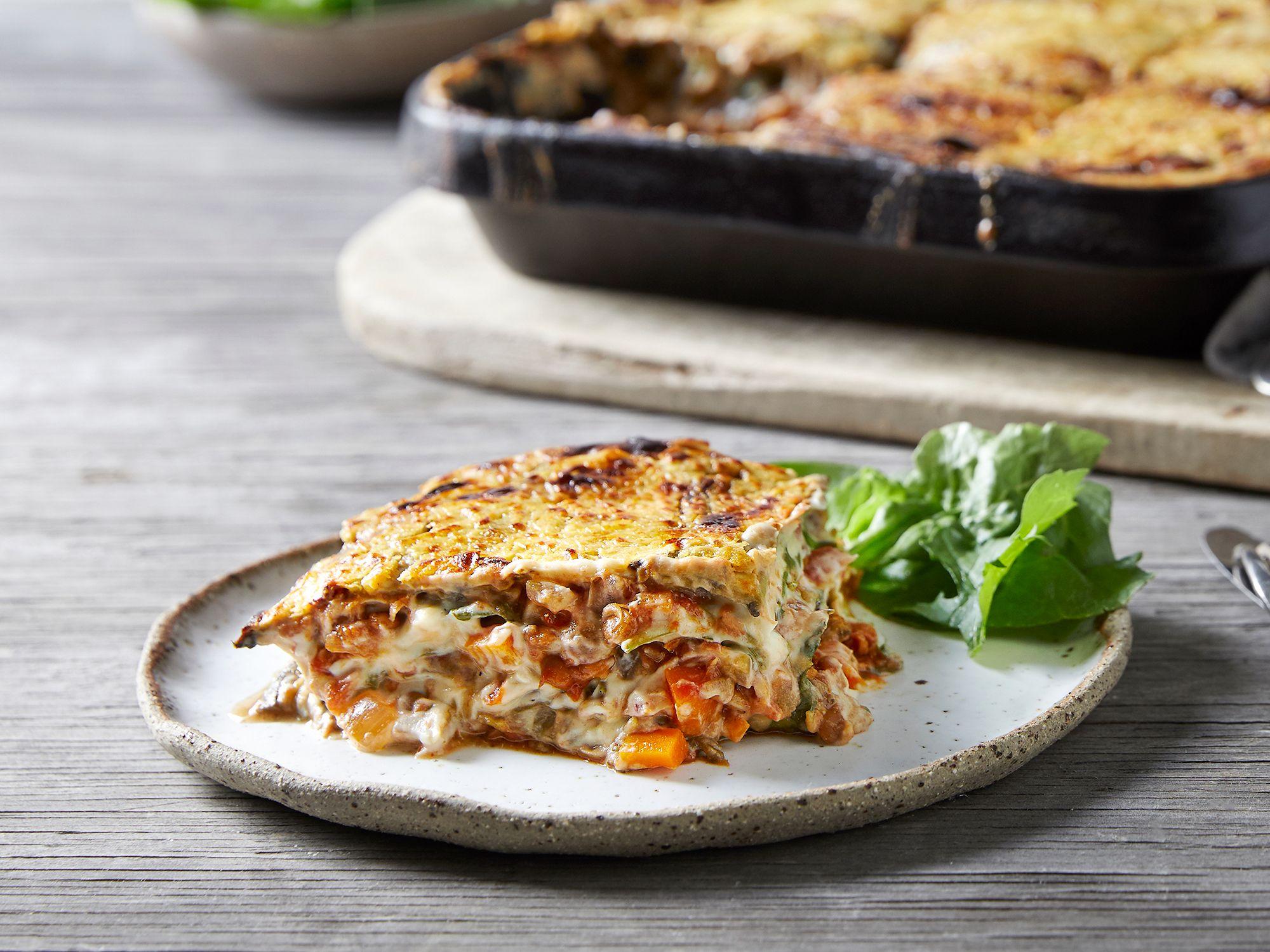 Vegan Lentil Lasagne